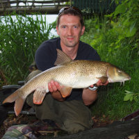 Rob with a Manchester 10lb Barbel
