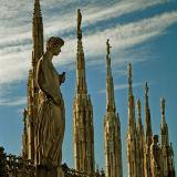 Spires of Milan Cathedral