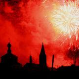 Fireworks in Suzdal