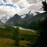 Belukha mountain. Akkem valley.