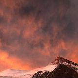Cerro Cuerno. Sunset.