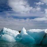 Floating icebergs #3