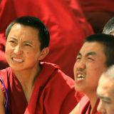 Monks in Sera monastery 2