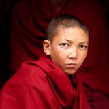 A monk boy