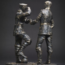 Christmas Truce I - Back View