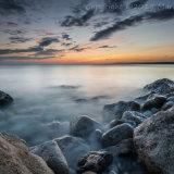 West Weare Seascape Sunset