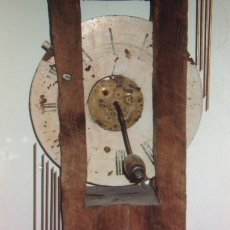Musical Clock Detail