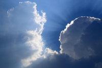 Clouds & Sunrays 01