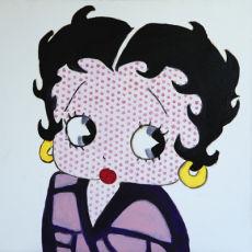 Betty Lichensteined Boop