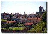 medieval French towns / villes français du moyen âge