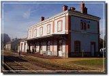 tourist train - Arlanc station / train touristique - la Gare d'Arlanc