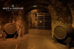 Moet & Chandon caves