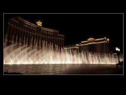 Bellagio and Ceasar's Palace