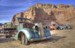 desert wreck colour