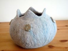 vessel with stones SOLD