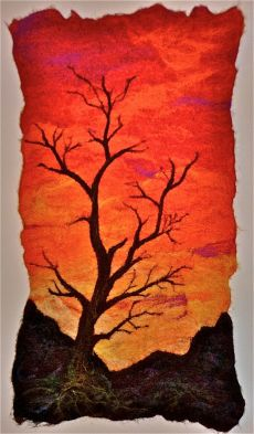 Lone Tree Sunset SOLD