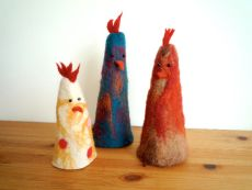 Crazy Chickens various size £8 each