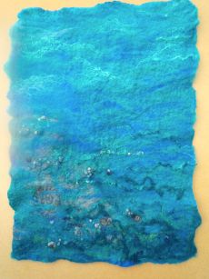 Under the Sea 48cms x 34cms  SOLD