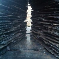 Slate Cairn I close up by Ewen Duncan - commission on request