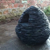 Slate Cairn I by Ewen Duncan - commission on request