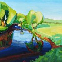 Endrick Bend 42.84 x 35cm, Giclee Print £90