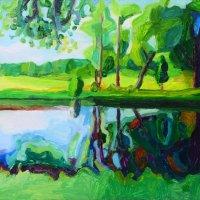 Endrick Reflection 42.94 x 35, Giclee Print £90
