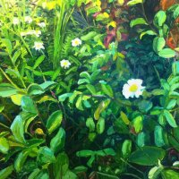 Garden Painting 1  30.94 x 25cm, Giclee Print £70