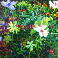 Garden Painting 2   31.19 x 25cm, Giclee Print  £70