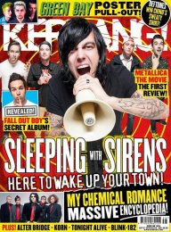 KERRANG - SLEEPING WITH SIRENS COVER