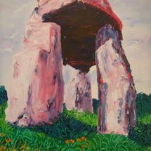 Legananny Dolmen Pink