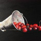 Bucket of Cherries - SOLD
