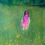lyra in meadow