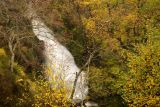 Mountain stream in spate, Loch Lomond