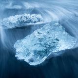 Ice shrapnel