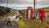 Phone and post boxes, Isle of Mull
