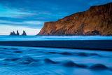 Vik cliffs at sunrise