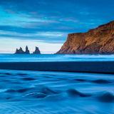 Vik cliffs at sunrise, Iceland