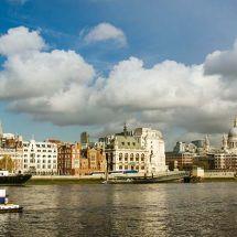 Cloudy Thames