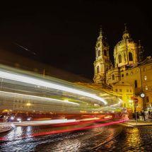 Night Tram Prague