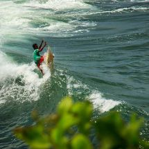 Tanah Lot Surfer