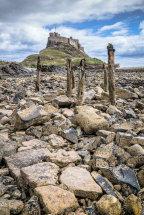 Castle foreshore Lindisfarne