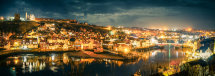 Whitby by Night pano 1