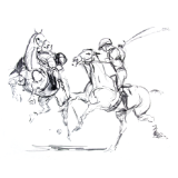 Polo Drawing
