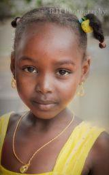 Lamu Girl in Yellow