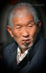 Smoking man China 2007
