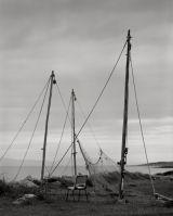 12 Fishing poles, Portmahomack