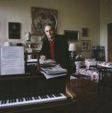 Menotti, Carlo. Composer, Yester House, 1984
