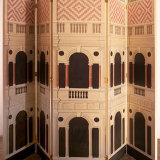 five panel palladio screen