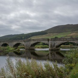 Bridge over river Wharfe at Burnsall