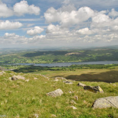 View over Coniston Water